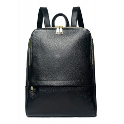 Hot Style Women Real Genuine Leather Backpack Fashion Bag Black