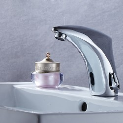 Automatic sensor tap Hot & Cold Mixer Hand Touch Free Sensor tap Faucet & Sink Tap banheiro