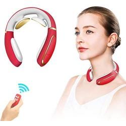Neck Massager,Intelligent Portable 4D Neck Massage with Heat Cordless,3 Modes 15 Levels Smart Deep Tissue Trigger Point Massage