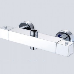 Wall Mounted Thermostatic mixing valve Brass Temperature Constant Control Shower Faucet Tap Thermostat