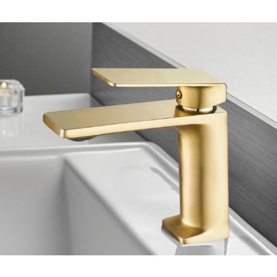 Basin Faucet Bathroom Sink Gold Faucet Single Handle Hole Faucet Basin Taps Grifo Lavabo Wash Hot Cold Mixer Tap