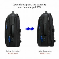2020 Men Backpack Expandable Weekend Travel Backpack Men Water Repellent