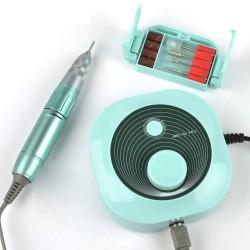 Electric Manicure Pedicure Nail Drill Machine Apparatus Art Pen Set for Manicure Pedicure Nail File Tools Drill Polish Bits Tool