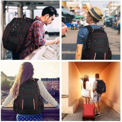 Large Laptop Backpack for Men, 17 Inch TSA Friendly Durable Computer Bookbag