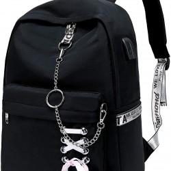 Cute Casual Hiking Daypack Waterproof Bookbag School Bag Backpack for Girls Women