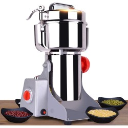 Upgraded Electric Grain Grinder Mill High-speed Spice Herb Mill Commercial powder machine Dry Cereals Grinder CE 3000W (1000g Swing Type)