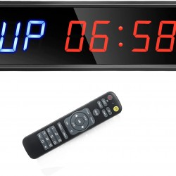 """1.5"""" Interval Gym Timer with Remote Control"""
