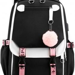 Backpack for Girls Kids Schoolbag Children Bookbag Women Casual Daypack