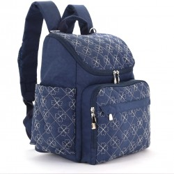 Diaper Bag Backpack With Baby Stroller Straps, 12 Pockets Organizer