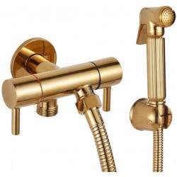Bathroom Shower Taps Set Sprinkler Head Faucet Pressurized Golden Toilet Washer Shower Sprinkler Faucet