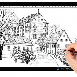 A4 Ultra-thin Portable LED Light Box Tracer USB Power Cable Dimmable Brightness LED Artcraft Tracing Light Box Light Pad for Artists Drawing Sketching Animation Stencilling X-rayViewing