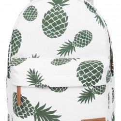 Backpack for Teen Girls Women with Multi-Pockets Cute Bookbag Daypack Travel Bag (Pineapple)