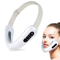 2 In 1 Electric V-Face Shaping Massager, 6 Types of Massage Modes Intelligent Face-Lifting Instrument, Face Slimming Machine.