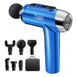 Massage Gun Fascia Gun Body Massager Muscle Exercise Fitness Shaping Pain Relief Relax Electric Massager