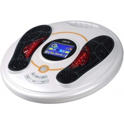 Foot Circulation Plus (FSA or HSA Eligible) - Medic Foot Massager Machine with TENS Unit, EMS (Electrical Muscles Stimulator) Feet Legs Health for Neuropathy, Diabetes, Relieve Pains and Cramps, RLS