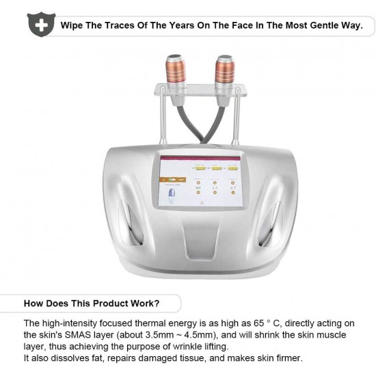 Facial Machine,Professional Skin Lifting Tightening Anti-Aging Wrinkle Removal Face Tightening Lifting Beauty Device Facial Care Beauty Tool Skin Rejuvenation